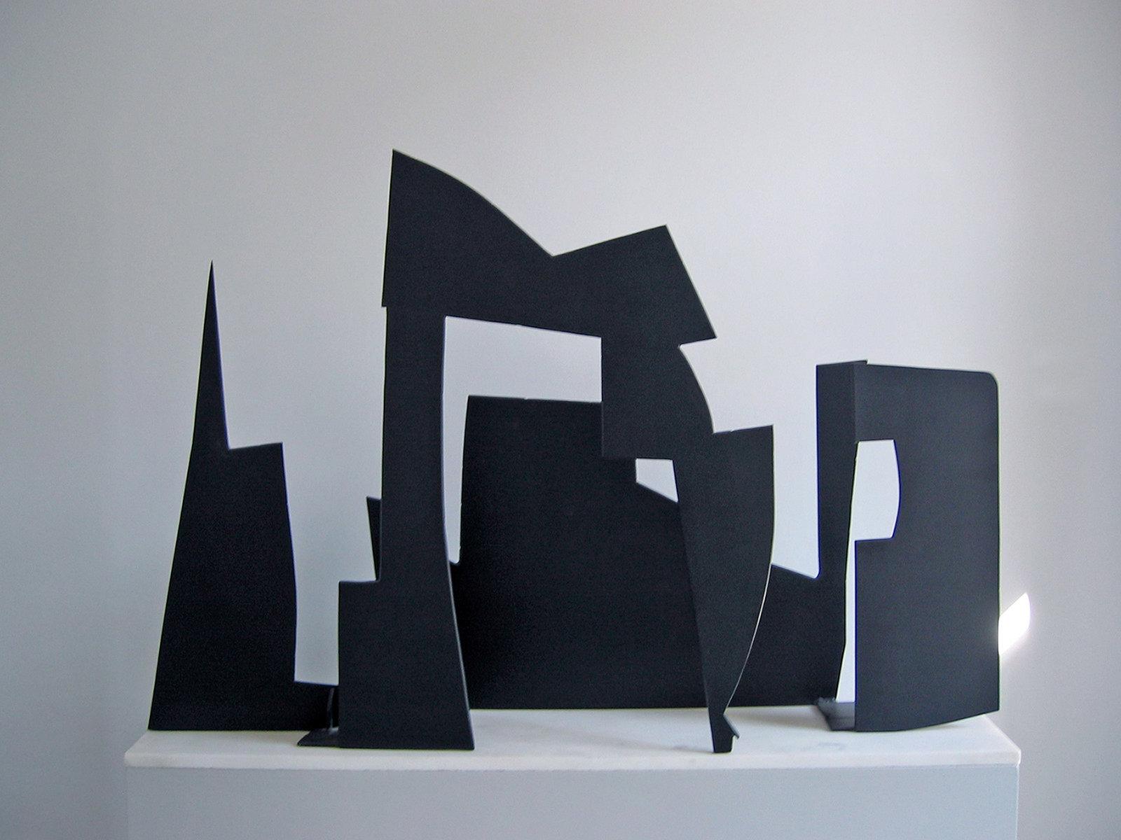 Άλεξ Μυλωνά Μυκήνες, 1960 Σίδερο, 60 x 120 εκ. Έργο από την έκθεση «Άλεξ Μυλωνά (1920-2016)» στο MOMus - Μουσείο Άλεξ Μυλωνά © Μουσείο Άλεξ Μυλωνά