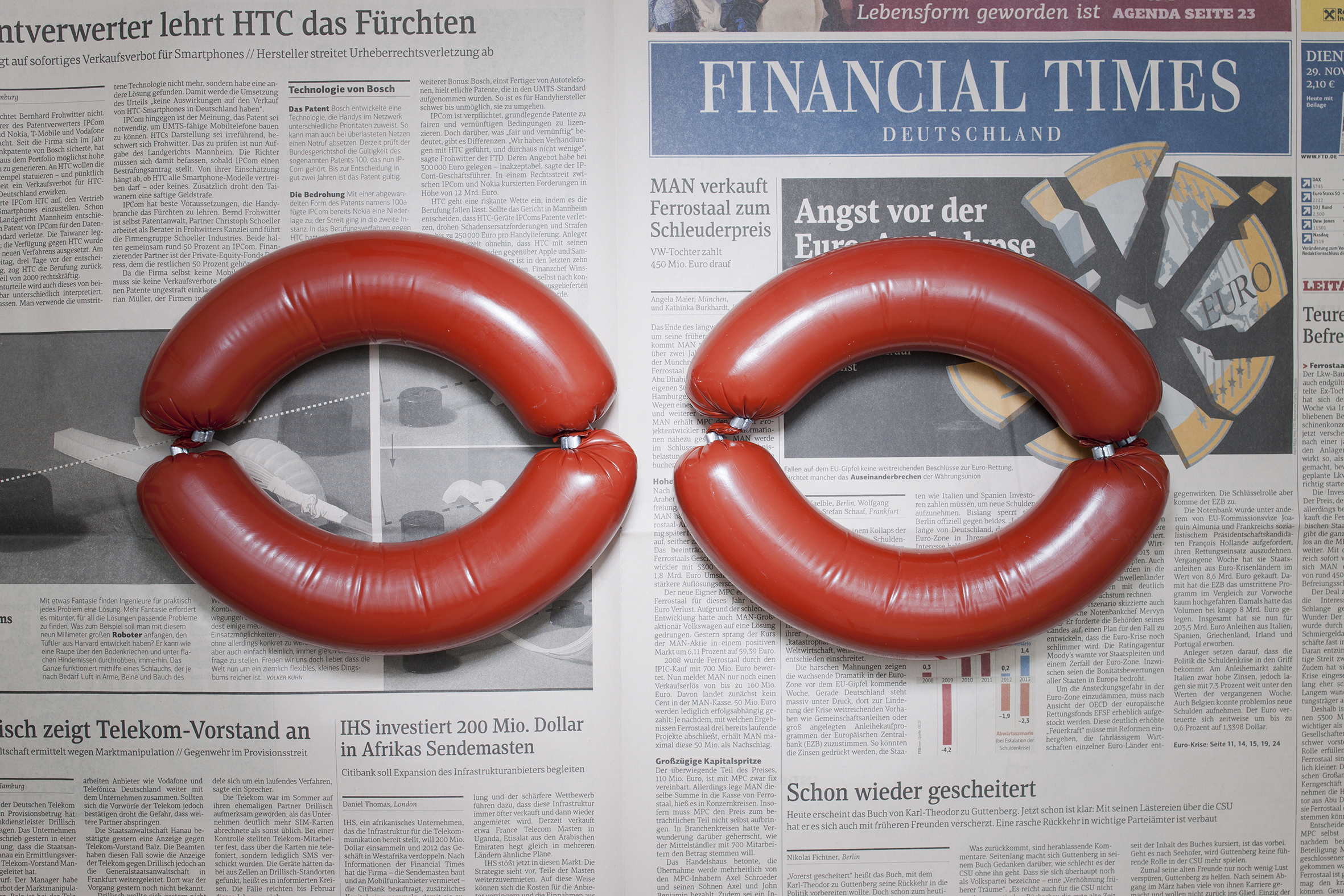 Stefen Chow & Lin Huiy, Γερμανία, Αμβούργο, Νοέμβριος 2011 4,82 ευρώ, από τη σειρά The Poverty Line